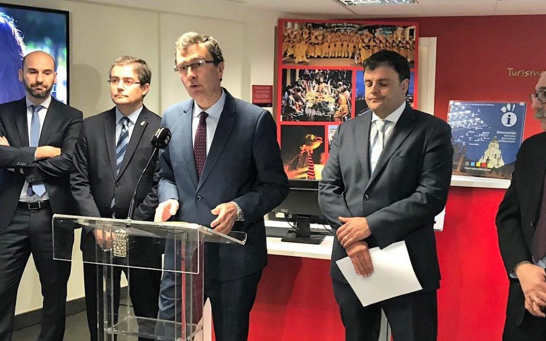 EL AYUNTAMIENTO PRESENTA LA CAMPAÑA DE FITUR 'A MURCIA SE VUELVE'