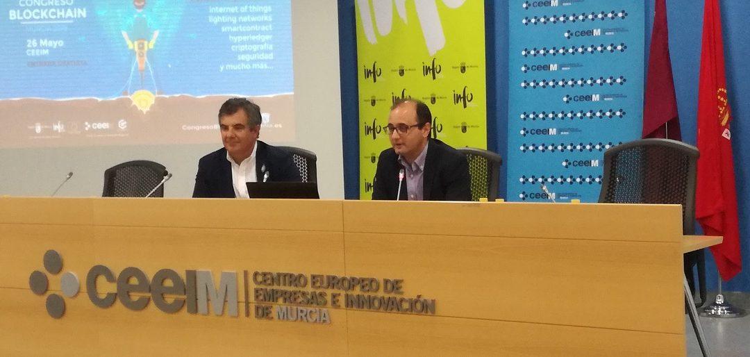 II CONGRESO 'BLOCKCHAIN MURCIA 2019' PARA PROFESIONALES ESPECIALIZADOS