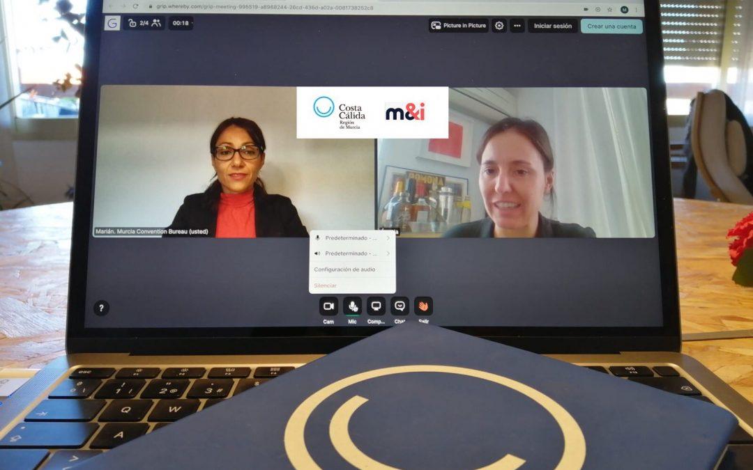 La Oficina de Congresos participa la edición virtual del M&I