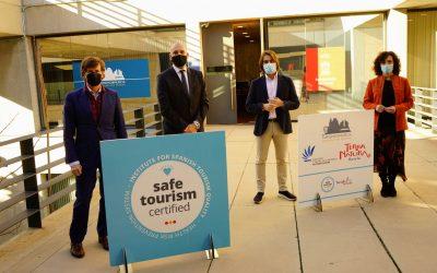 Turismo de Murcia presenta los nuevos sellos 'Safe Tourism Certified'
